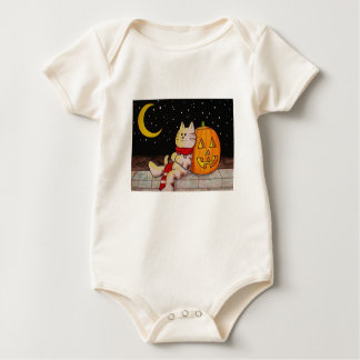 "Camisa orgánica ""centelleo de Halloween Babys del"