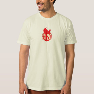 Camisa orgánica del logotipo alterno HOF20