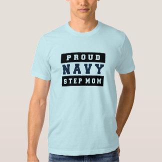 Camisa orgullosa de la mamá del paso de la marina