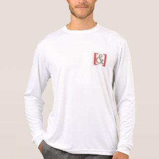 """camisa original no tendida del signo """"&"""" del"""