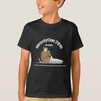 ¡Camisa oscura de HowdyCon/engranaje ligero de la Playera
