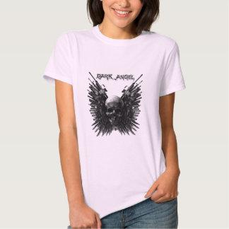 Camisa oscura de las señoras del ángel