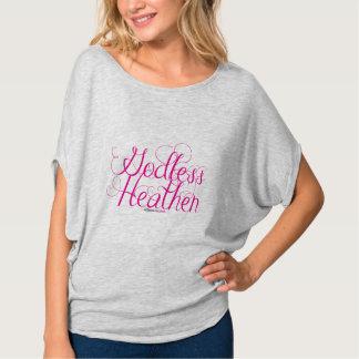 Camisa pagana atea de Flowy Bella de las mujeres