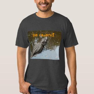 Camisa para hombre con el cocodrilo