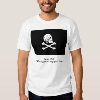 Camisa para hombre de CNAs del pirata