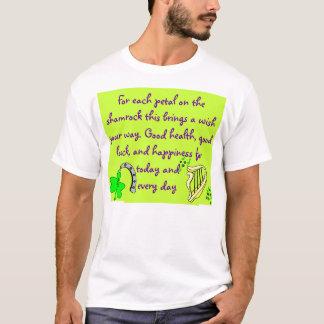 Camisa para hombre de la bendición irlandesa