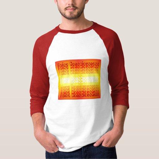 Camisa para hombre de la conciencia del aumento