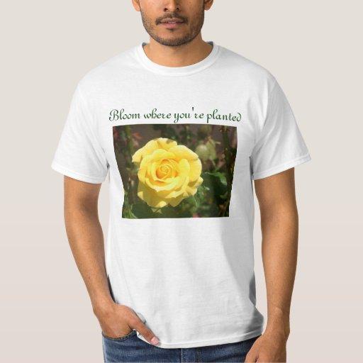 Camisa para hombre de la floración