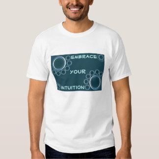 camisa para hombre de la intuición