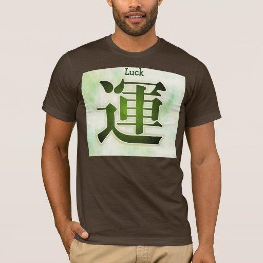 Camisa para hombre de la suerte