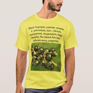Camisa para hombre de las grosellas negras