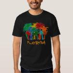 Camisa para hombre de las palmeras de la Florida