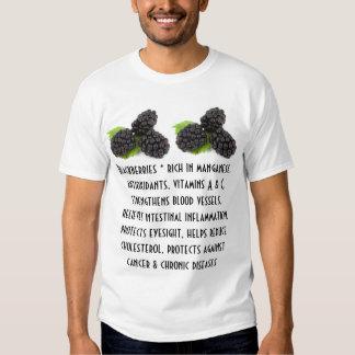 Camisa para hombre de las zarzamoras