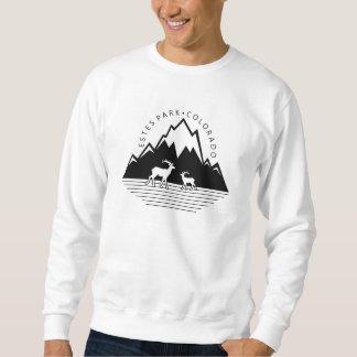 Camisa para hombre de los alces simples de