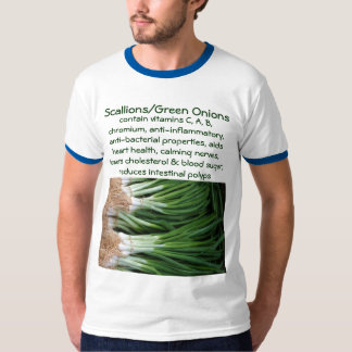Camisa para hombre de los Scallions/de las