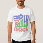 Camisa para hombre de Shalom Salaam de la paz