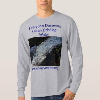 Camisa para hombre del agua potable
