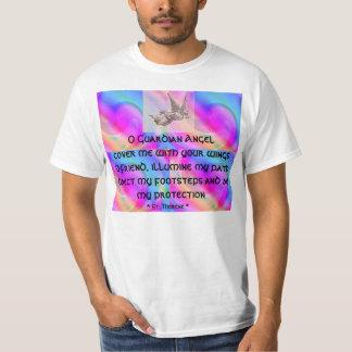 Camisa para hombre del ángel de guarda