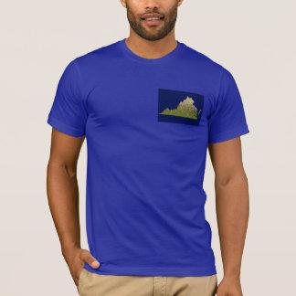 Camisa para hombre del brag de Virginia