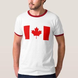 Camisa para hombre del campanero de la bandera de
