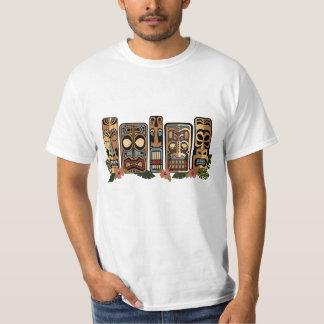 Camisa para hombre del fiesta de Tiki