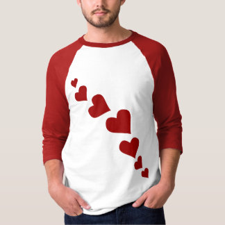 Camisa para hombre del jersey del amor de la