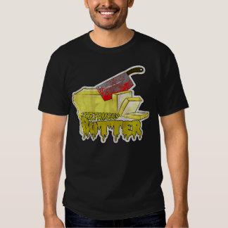 Camisa para hombre del logotipo de la mantequilla