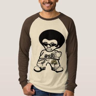 Camisa para hombre del raglán