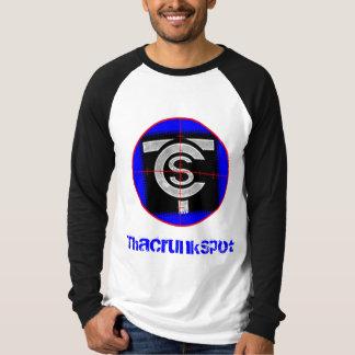 Camisa para hombre del raglán - modificada para