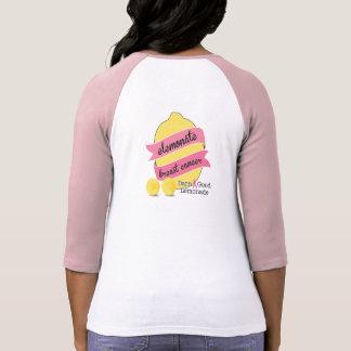 Camisa para mujer 3/4 Sleev del equipo de