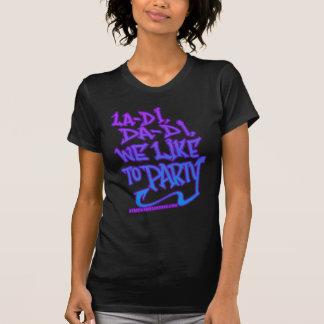 camisa para mujer de HIP HOP de la escuela vieja