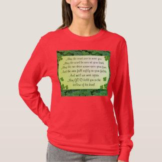 Camisa para mujer de la bendición irlandesa