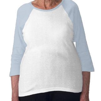 camisa para mujer de la onda de la cruz céltica