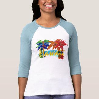 Camisa para mujer de la palmera de Hawaii
