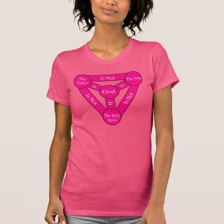 Camisa para mujer del escudo de la trinidad