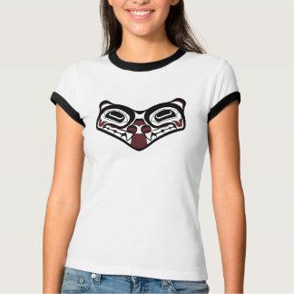 Camisa para mujer del lobo de DNW