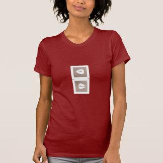 Camisa para mujer polaroid de los caballos de la