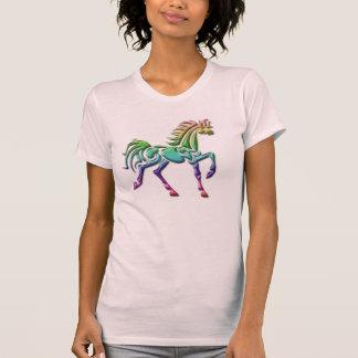 Camisa para mujer tribal del caballo