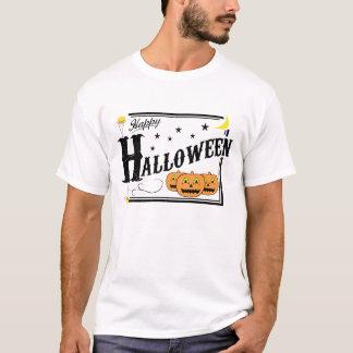 Camisa pasada de moda del feliz Halloween