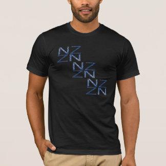 Camisa patriótica del símbolo de Nueva Zelanda NZ