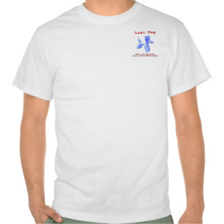 Camisa perdida del perro