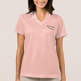Camisa personal del instructor de las señoras