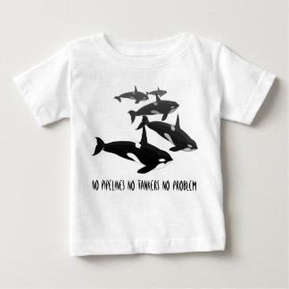 Camisa personalizada camiseta de la ballena de la