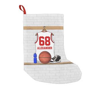 Camisa personalizada del baloncesto en vestuario bota navideña pequeña