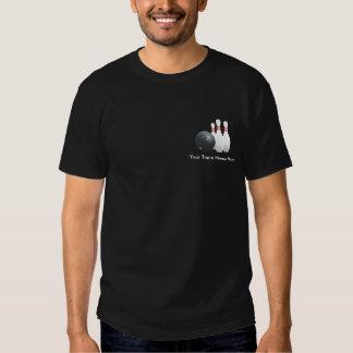 Camisa personalizada del equipo de los bolos