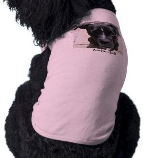 Camisa personalizada del perro playera sin mangas para perro