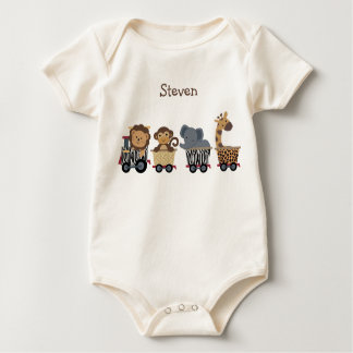 Camisa personalizada del tren expreso del safari