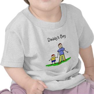 Camisa personalizada muchacho de los caracteres de