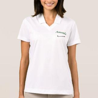 Camisa personalizada nombre del GOLF de Cusom