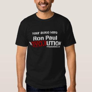Camisa personalizada revolución de Ron Paul